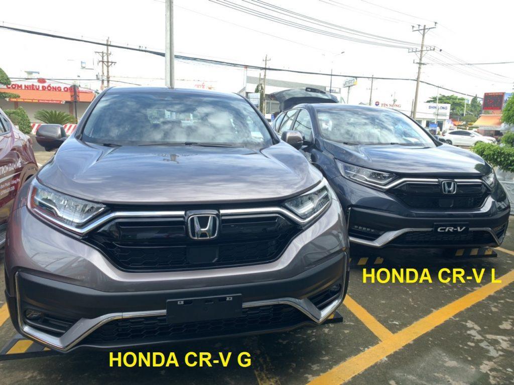 Khac Nhau Giua Honda Cr V G Va Honda Cr V L